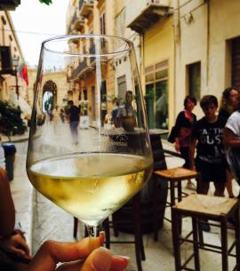 Sicily wine and typical products