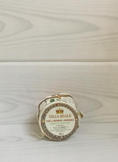Peppers and Almond Pate (180 gr.) - Villa reale front