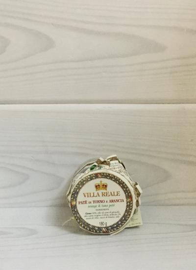 Orange & tuna Patè (180 gr.) - Villa Reale front