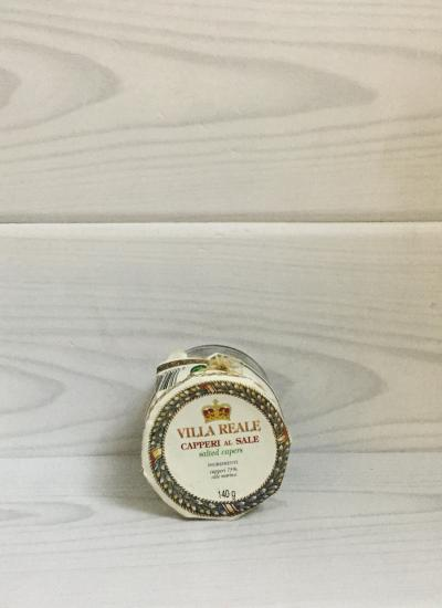 Salted Capers (140 gr.) - Villa Reale front